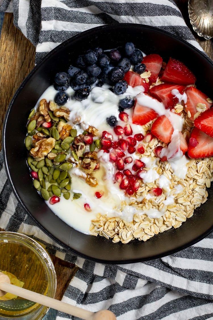 Easy Meal Prep Oatmeal Breakfast | Midwest Foodie