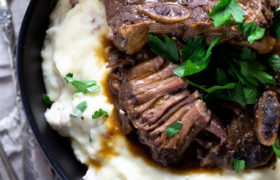 Slow Cooker Beer Braised Short Ribs | Midwest Foodie