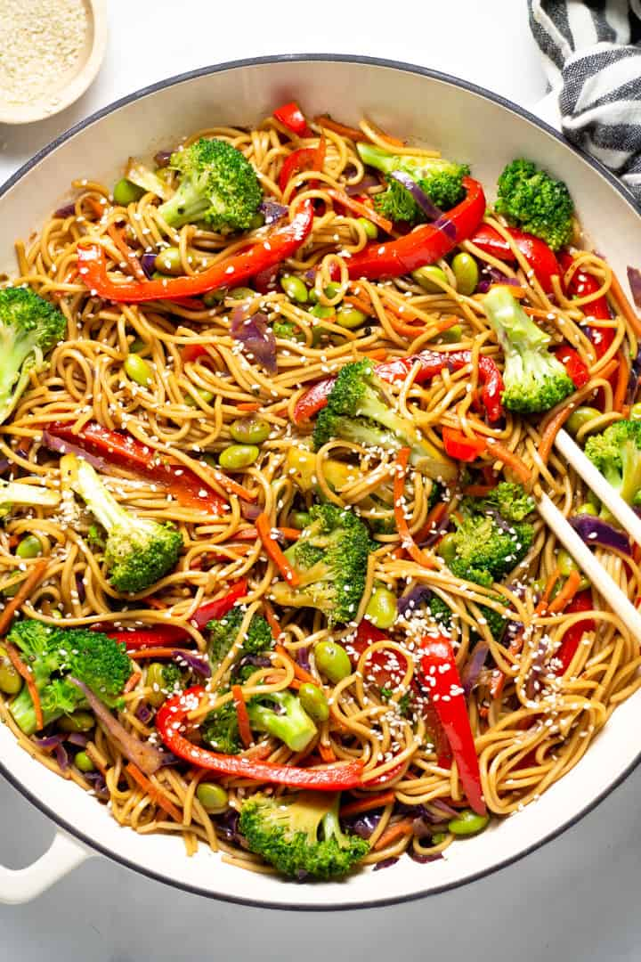 Lo Mein Recipe Midwest Foodie