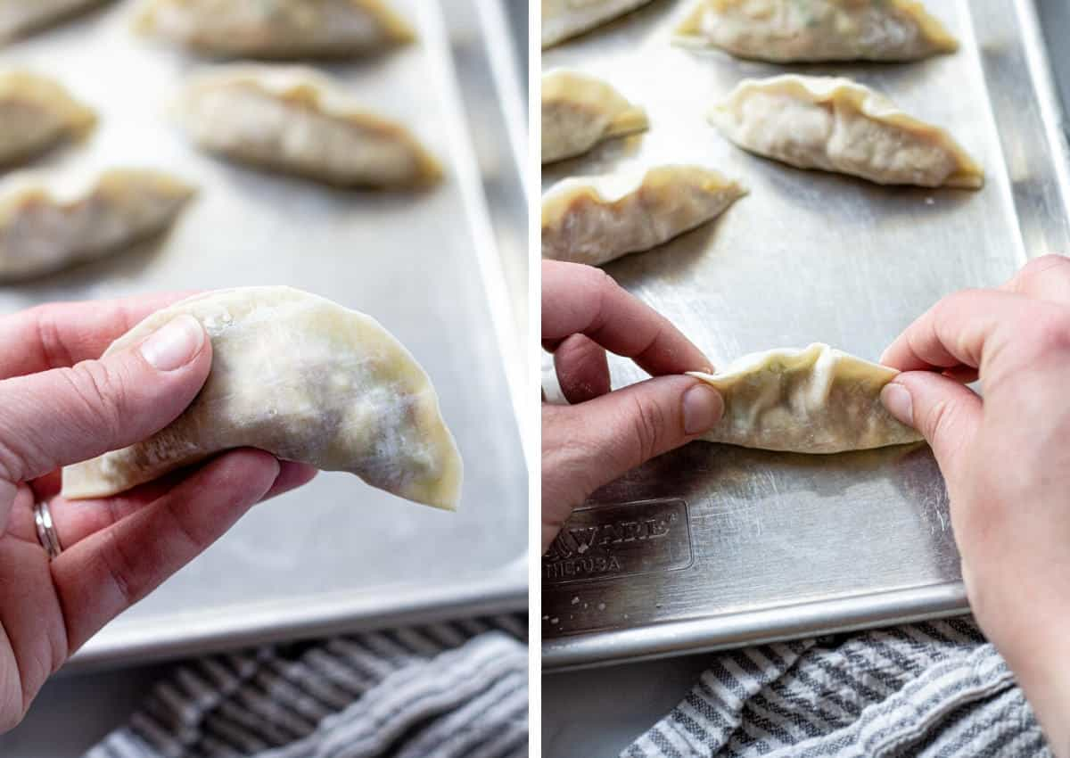 Pork Dumplings Video Midwest Foodie