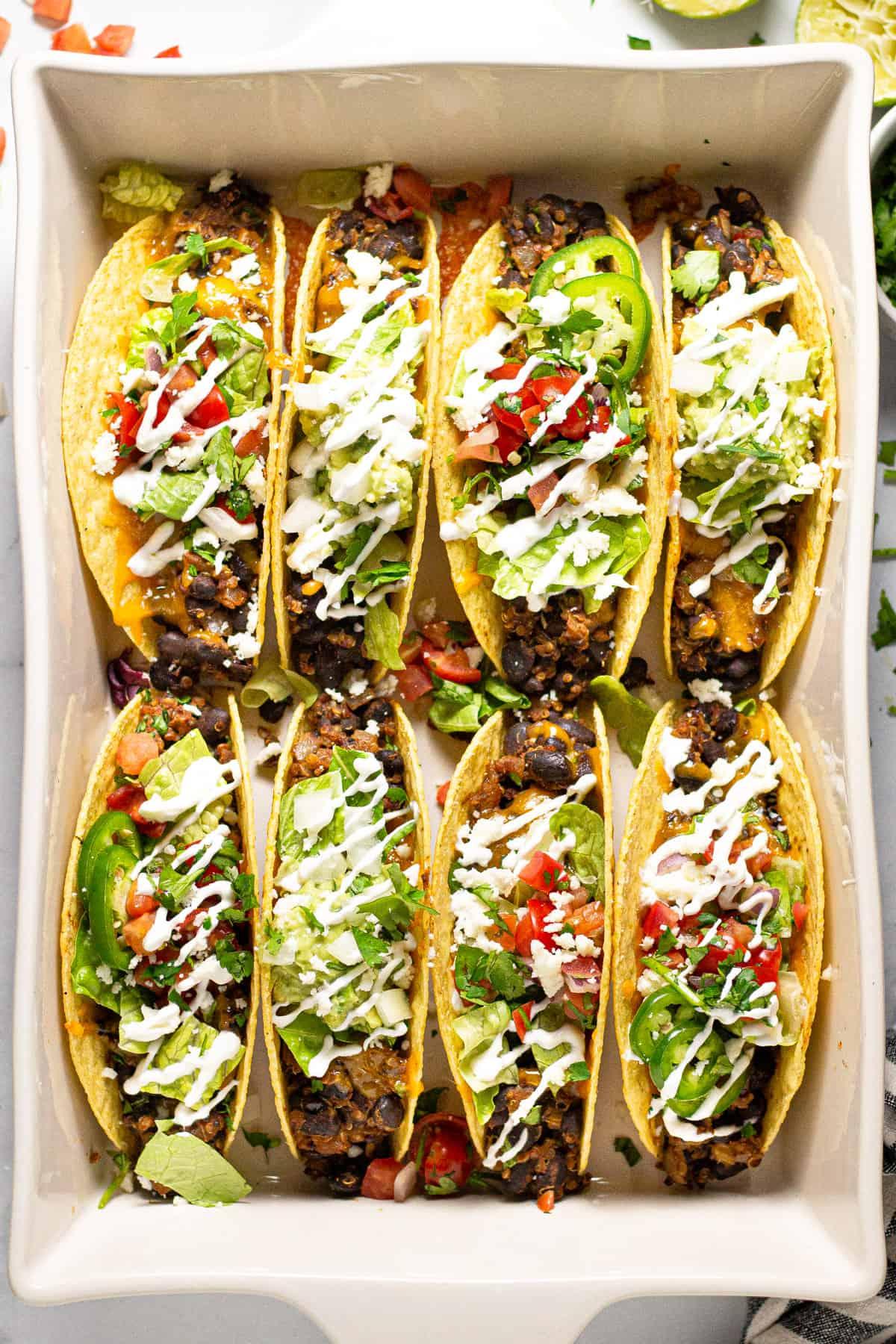 Black Bean Tacos   Midwest Foodie