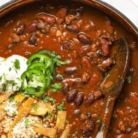 Beef And Beer Chili Midwest Foodie
