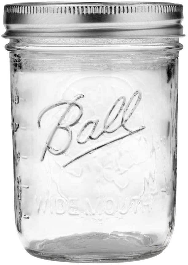 Image of wide mouth mason jar