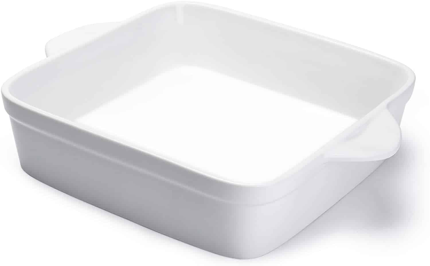 Image of 9x9 white baking dish