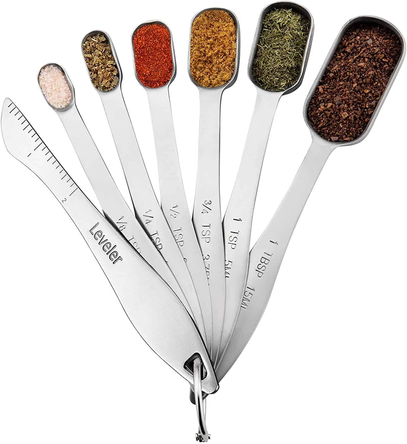 Image of measuring spoons